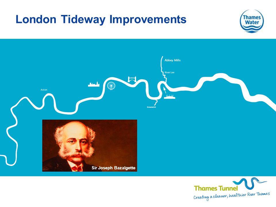 London Tideway Improvements Sir Joseph Bazalgette