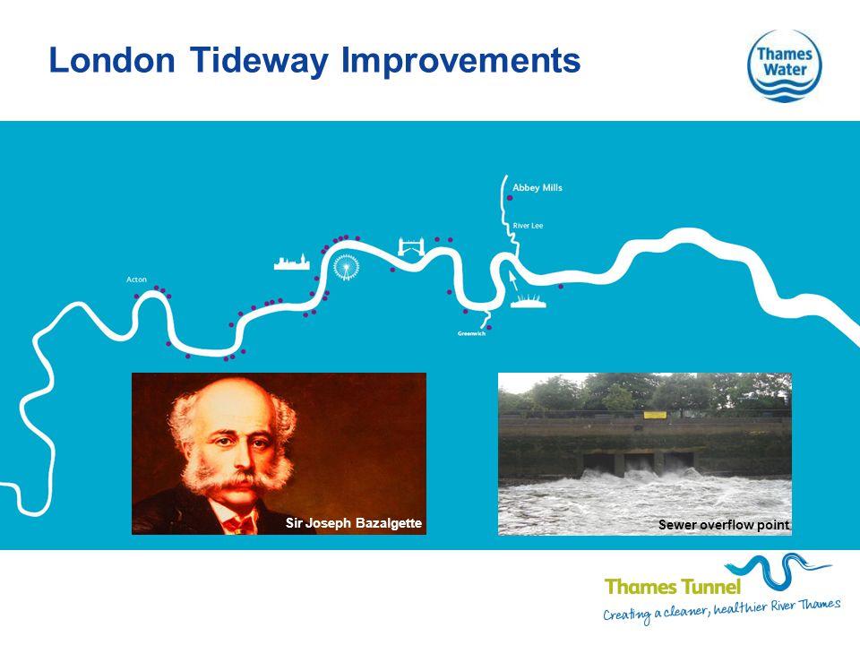 London Tideway Improvements Sewer overflow point Sir Joseph Bazalgette