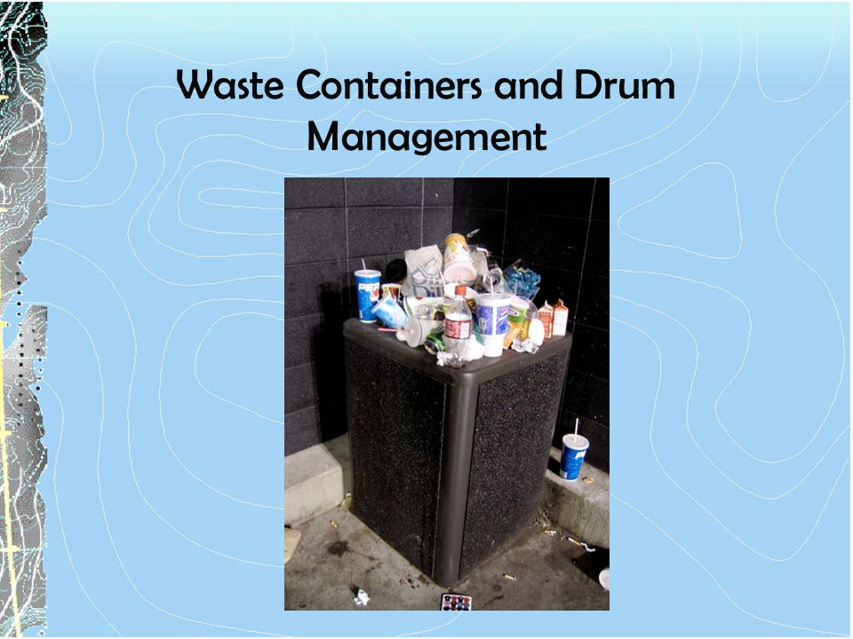 Waste Containers and Drum Management