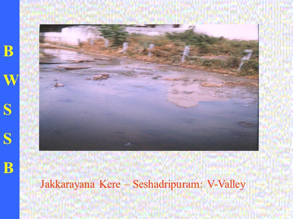 BWSSBBWSSB Jakkarayana Kere – Seshadripuram: V-Valley