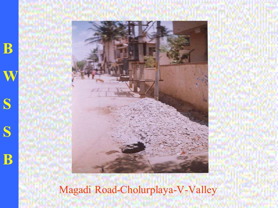BWSSBBWSSB Magadi Road-Cholurplaya-V-Valley