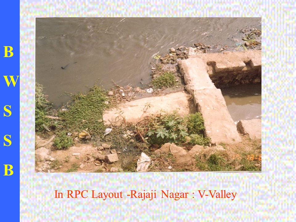 BWSSBBWSSB In RPC Layout -Rajaji Nagar : V-Valley
