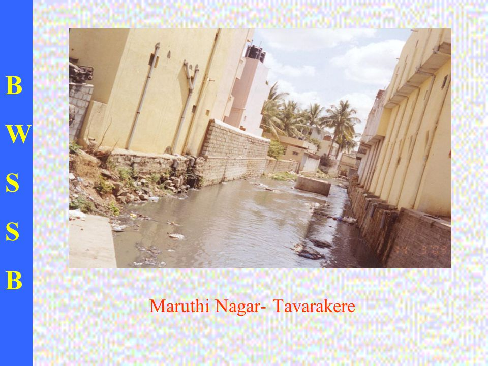 BWSSBBWSSB Maruthi Nagar- Tavarakere