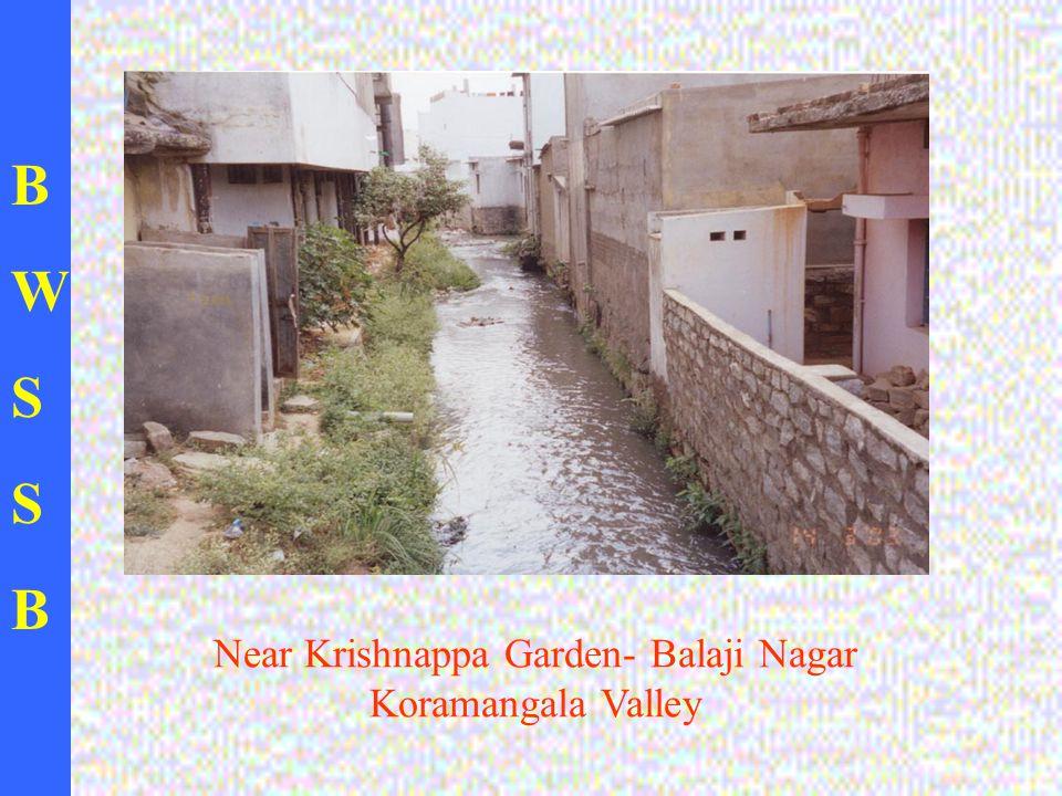 BWSSBBWSSB Near Krishnappa Garden- Balaji Nagar Koramangala Valley