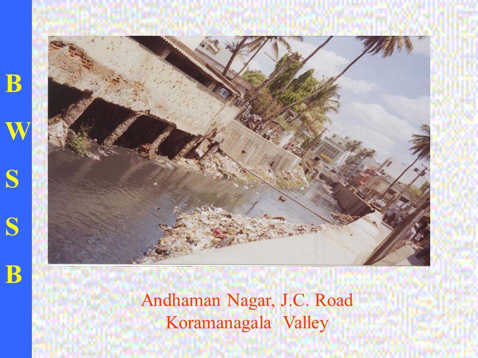 BWSSBBWSSB Andhaman Nagar, J.C. Road Koramanagala Valley