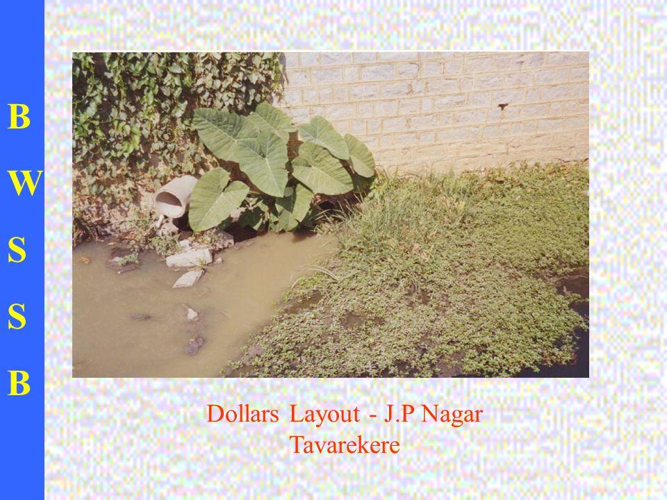 BWSSBBWSSB Dollars Layout - J.P Nagar Tavarekere