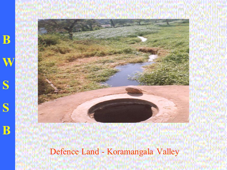 BWSSBBWSSB Defence Land - Koramangala Valley