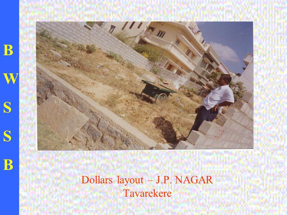 BWSSBBWSSB Dollars layout – J.P. NAGAR Tavarekere