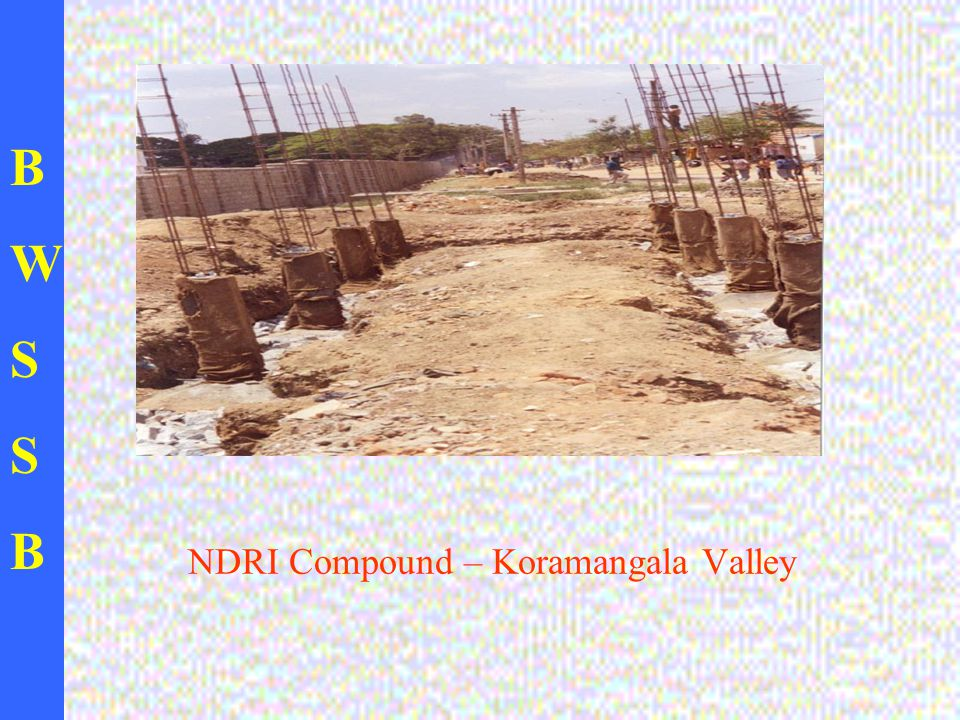 BWSSBBWSSB NDRI Compound – Koramangala Valley