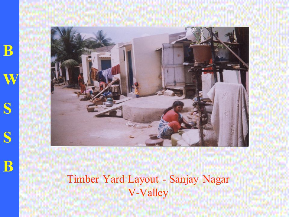 BWSSBBWSSB Timber Yard Layout - Sanjay Nagar V-Valley