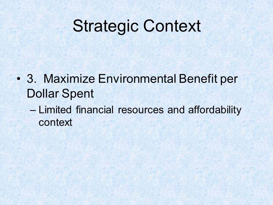Strategic Context 3.