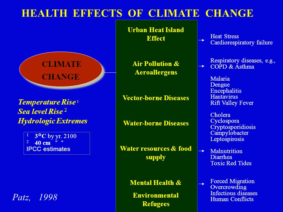 Decision Support In adapting to climate change, we need to include health co- benefits stemming from mitigation policies; thus far, one-sided discussions of costs