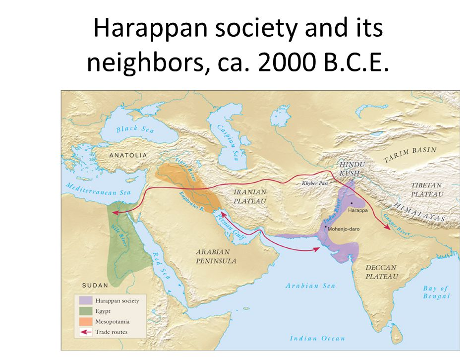 Indus or Harappan Civilization The advanced civilization that flourished for hundreds of years in these cities is called the Harappan or Indus civiliz