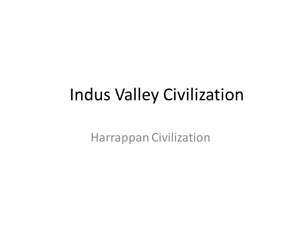 Indus River Valley Civilization The Story Continues Thousands of years ago near the Indus River valley there existed a village called Amri, whose citi