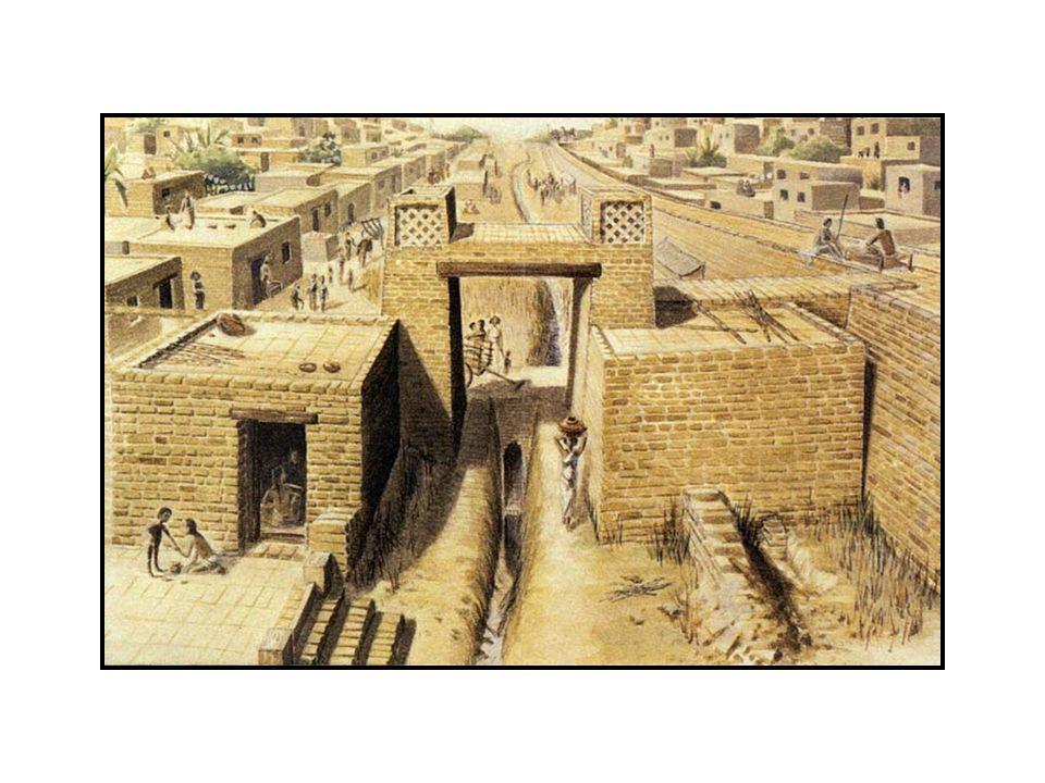 Mohenjo-Daro Ruins  Population c. 40,000  Regional center  Layout, architecture suggests public purpose  Broad streets, citadel, pool, sewage  St