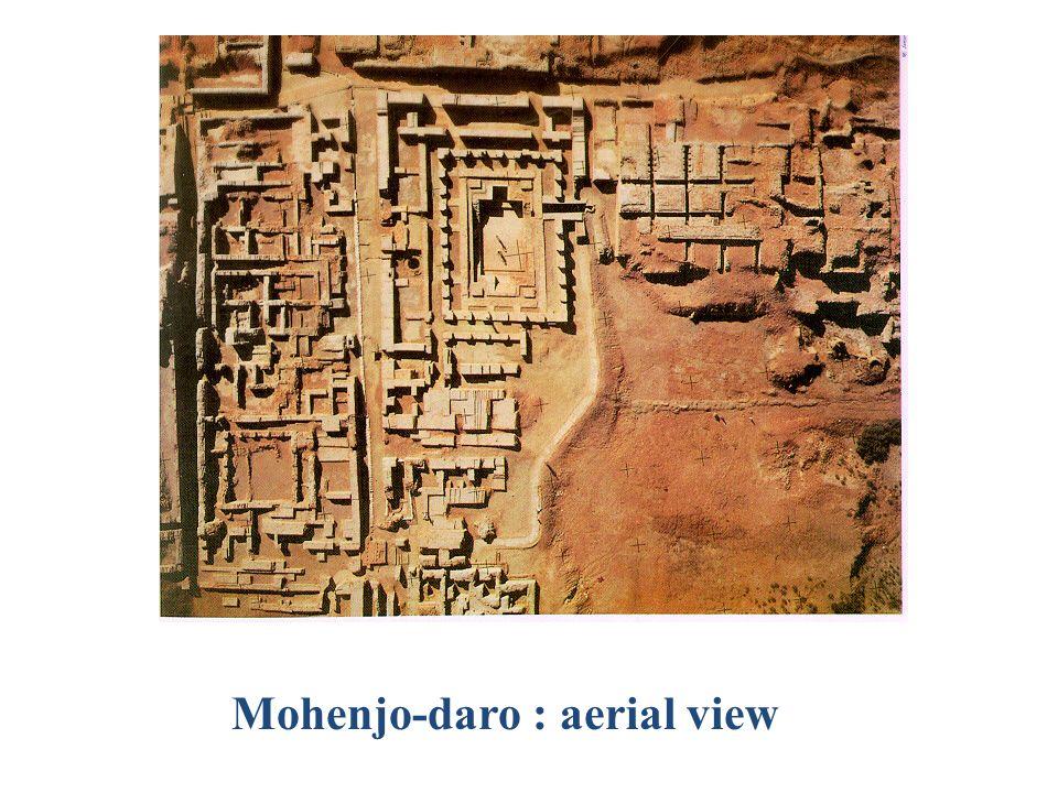 Grid map of Mohenjo-daro