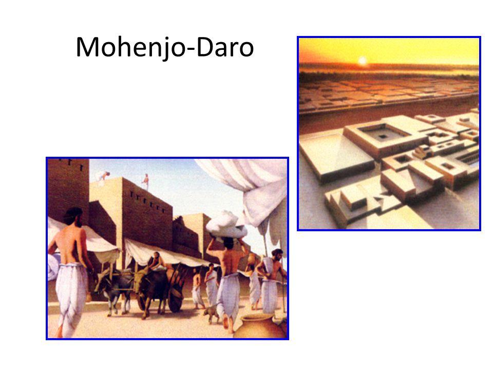 Mohenjo-daro : aerial view