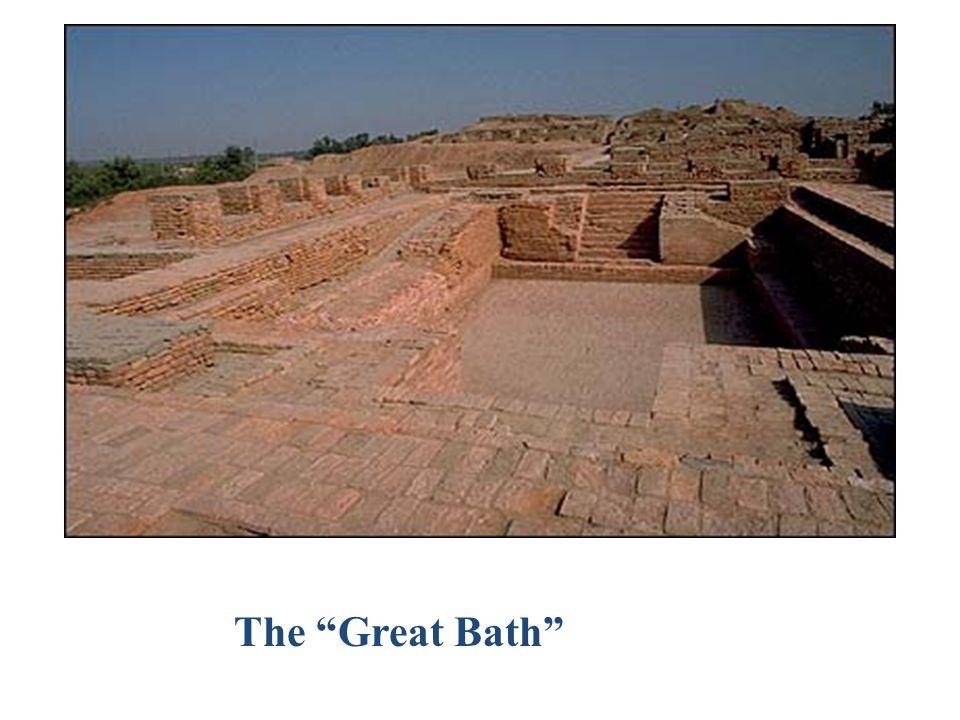 "Mohenjo-daro view of the ""Citadel"""