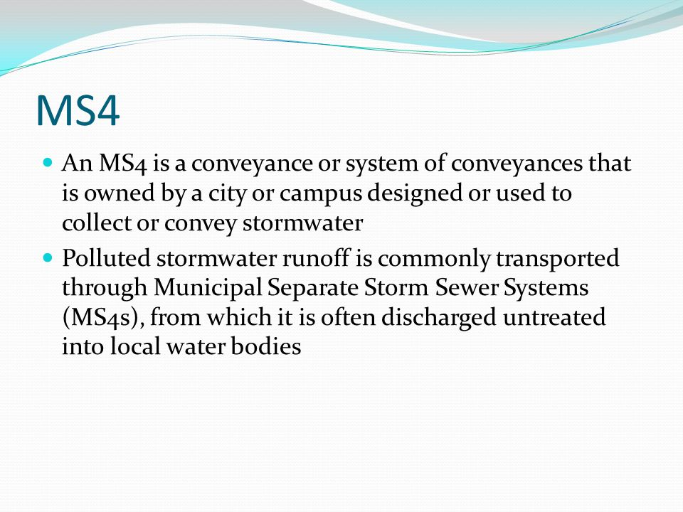 What is Stormwater Stormwater is water runoff after a rain storm from streets, construction sites, parking lots, buildings and other areas that goes directly into storm drains and eventually into local streams and rivers.