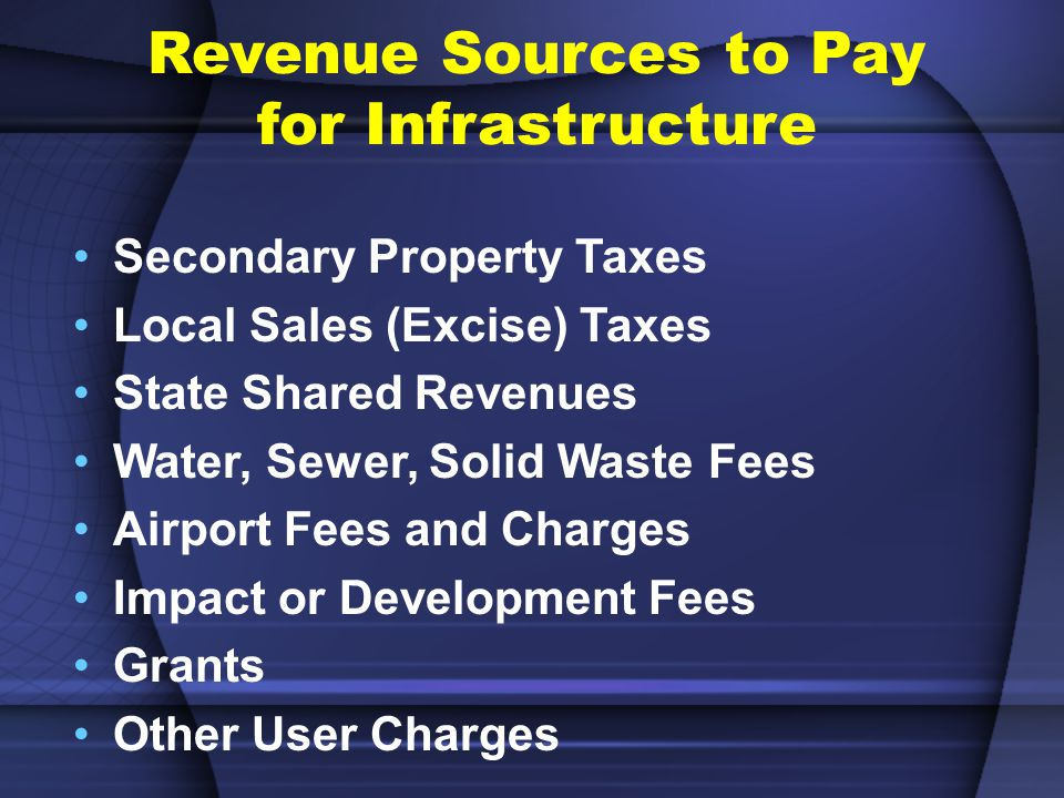 How will Infrastructure be Funded.Pay-As-You-Go (Cash).