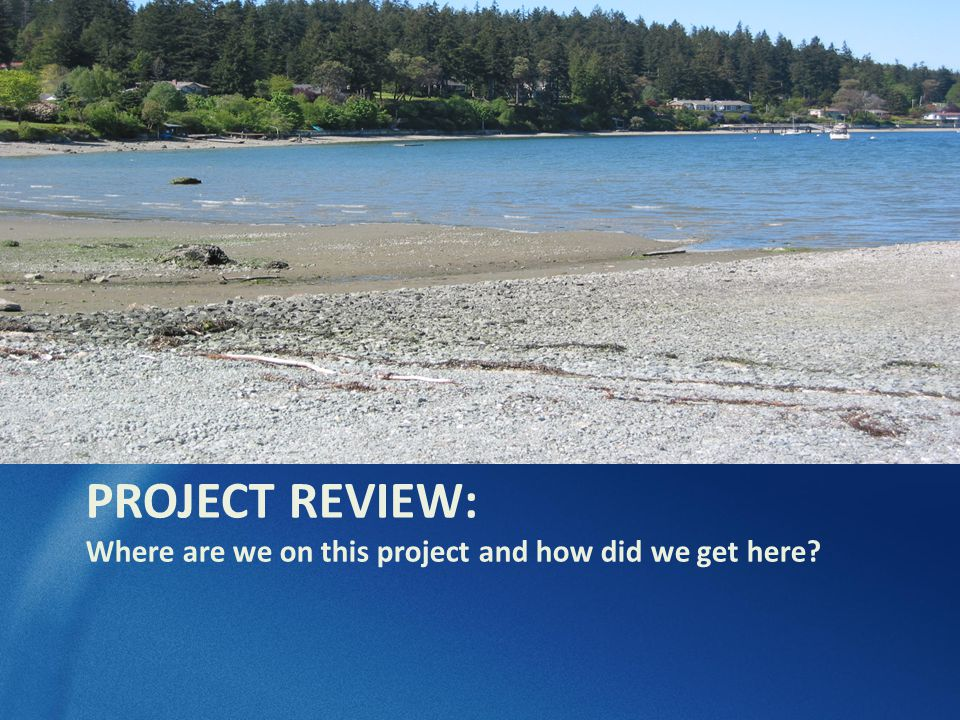 Project Review What water quality issues.Why does the Freeland Sub-Area Plan require sewers.