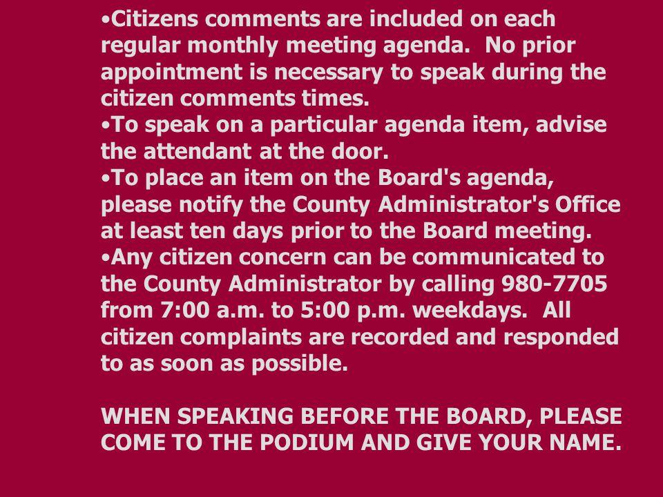 BOARD AGENDA Regular Meeting PULASKI COUNTY Jan.11, 2011 PUBLIC SERVICE AUTHORITY 9:00 a.m.