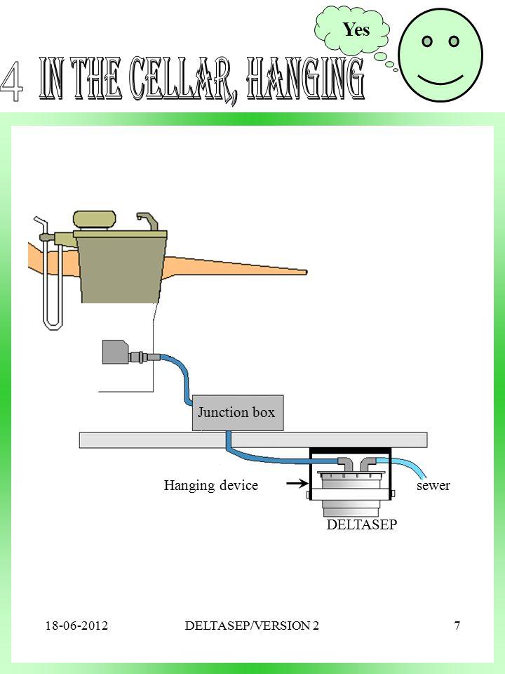 ISOSEP sewer Junction box DELTASEP Hanging device Yes 18-06-20127DELTASEP/VERSION 2