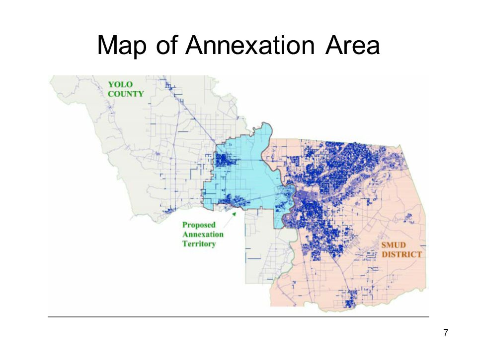 8 Potential Economic Impacts of Annexation An increase or decrease in the rates for existing SMUD customers An increase or decrease in the rates for customers in the annexation area from PG&E retail rates A reduction in local franchise fee and property tax payments due to SMUD's not-for-profit structure A reduction in state and federal income taxes due to SMUD's not-for-profit structure