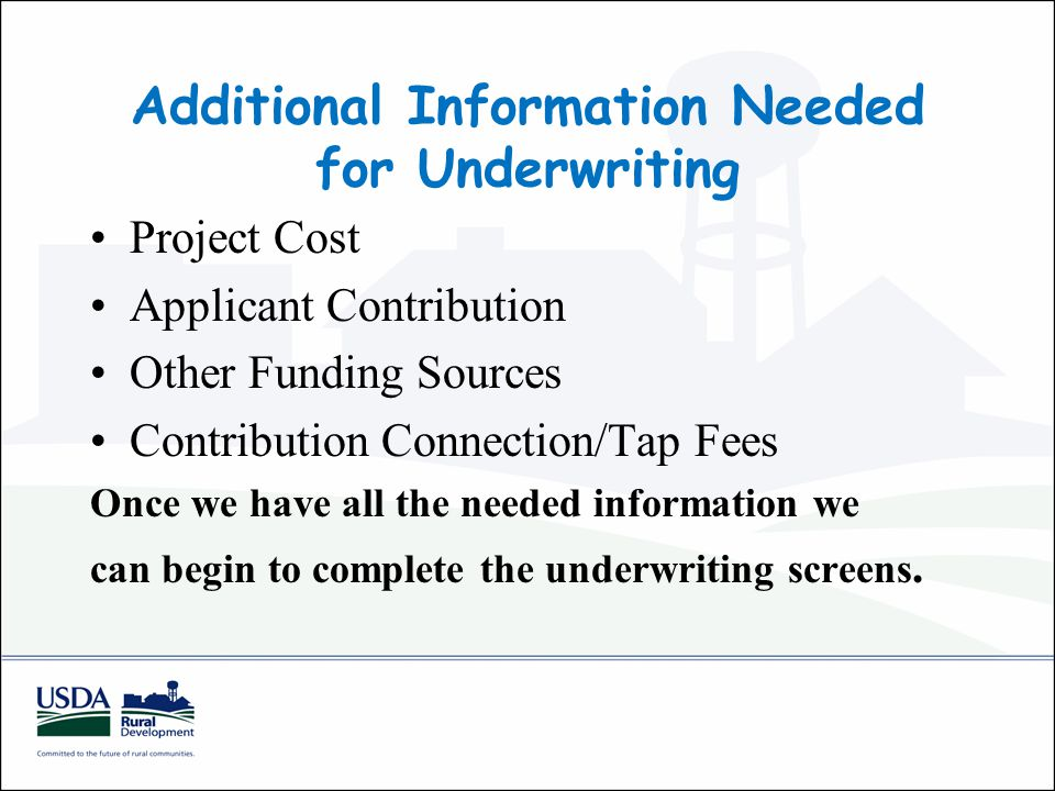 Other Funding Sources Any proposed other funding sources should be identified in the preliminary engineering report.