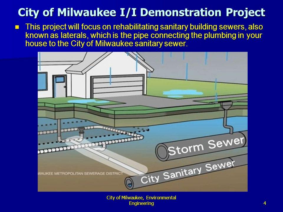 City of Milwaukee, Environmental Engineering5 How Do Basement Backups Happen.