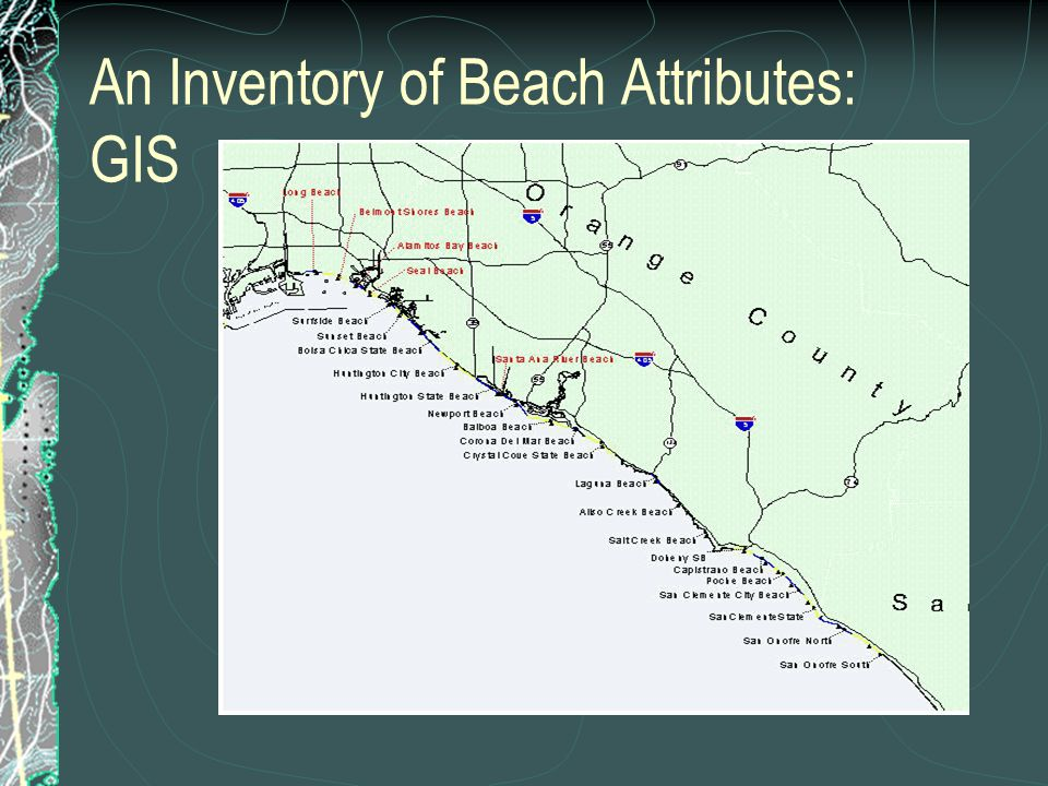 Beaches Covered County Line  Santa Monica  Venice  Hermosa  Huntington  Newport  Laguna  San Onofre From Counties in Stage 1