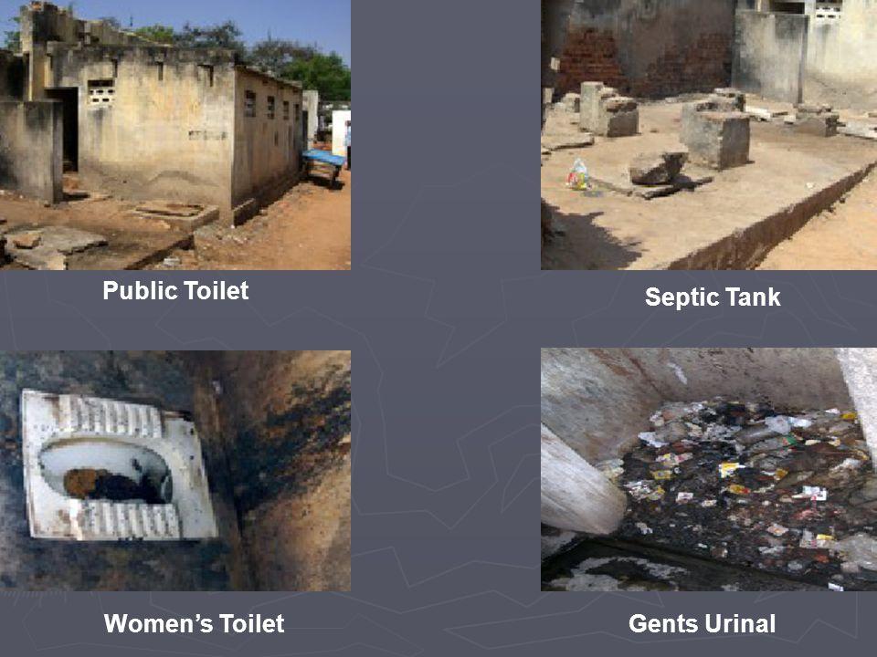Public Toilet Septic Tank Women's ToiletGents Urinal