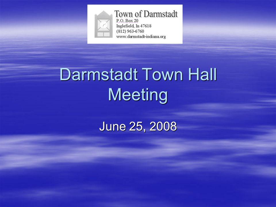 Darmstadt Town Hall Meeting June 25, 2008