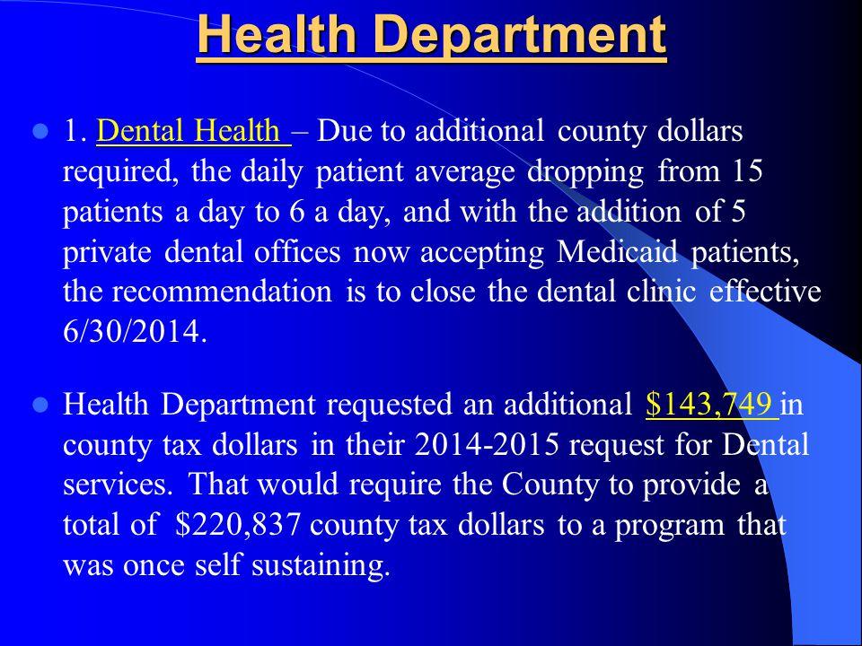 Health Department 1.