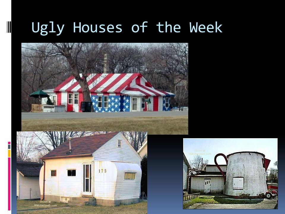 Ugly Houses of the Week