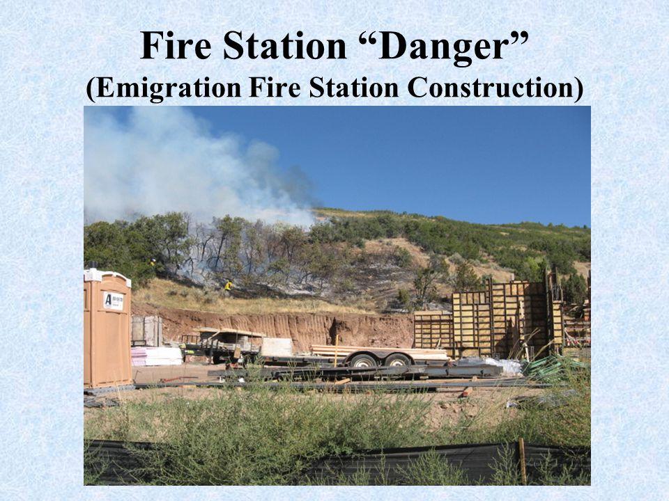 """Fire Station """"Danger"""" (Emigration Fire Station Construction)"""