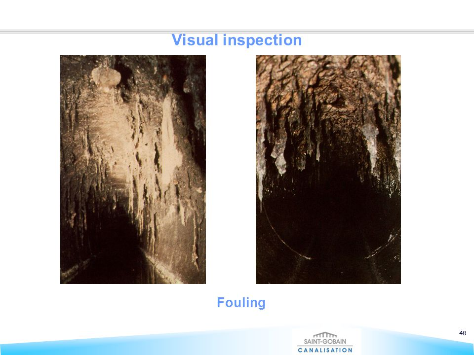 48 Visual inspection Fouling