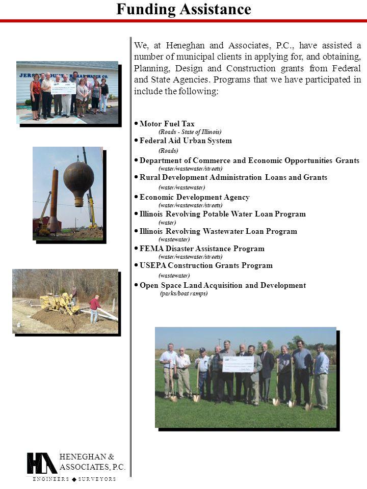 Funding Assistance HENEGHAN & ASSOCIATES, P.C.