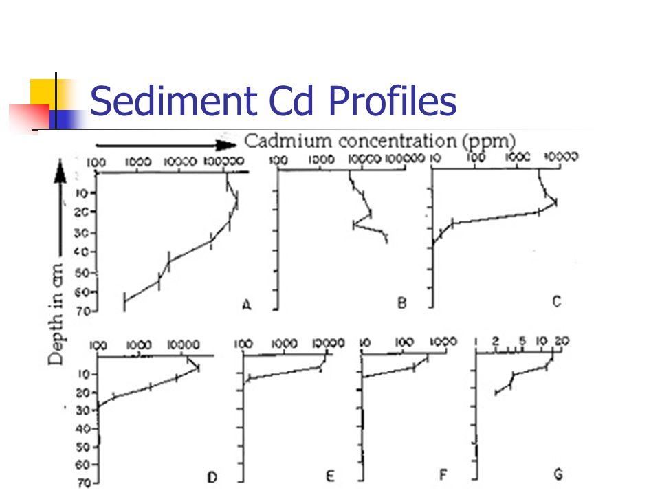 5/1/2015 RI/FS Findings ~8% of EFCM had >1000 mg/kg Cd