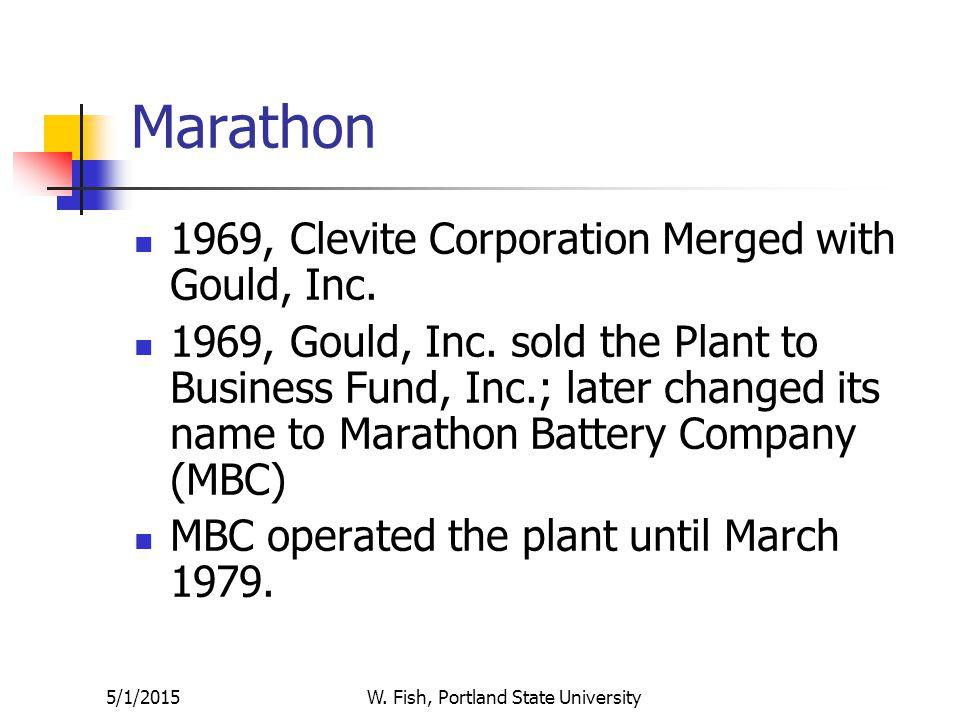 5/1/2015W. Fish, Portland State University Private Owners 1962: U.S.