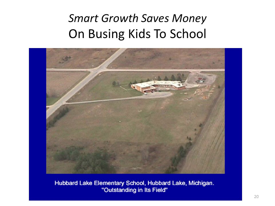 Smart Growth Saves Money On Busing Kids To School 20