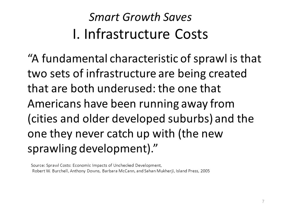 Smart Growth Saves I.