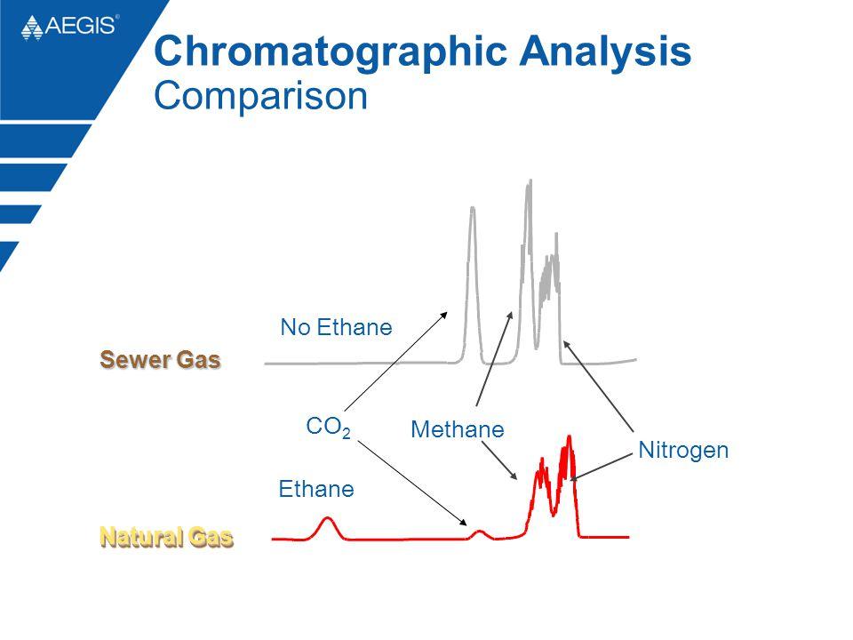 Ethane No Ethane Natural Gas Sewer Gas Methane Nitrogen CO 2 Chromatographic Analysis Comparison
