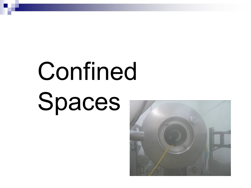 Standard Permit-Required Confined Spaces  29 CFR 1910.146