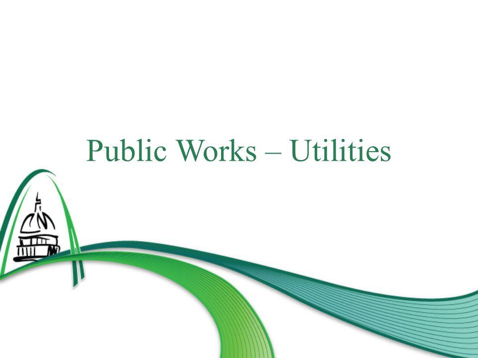 Public Works – Utilities