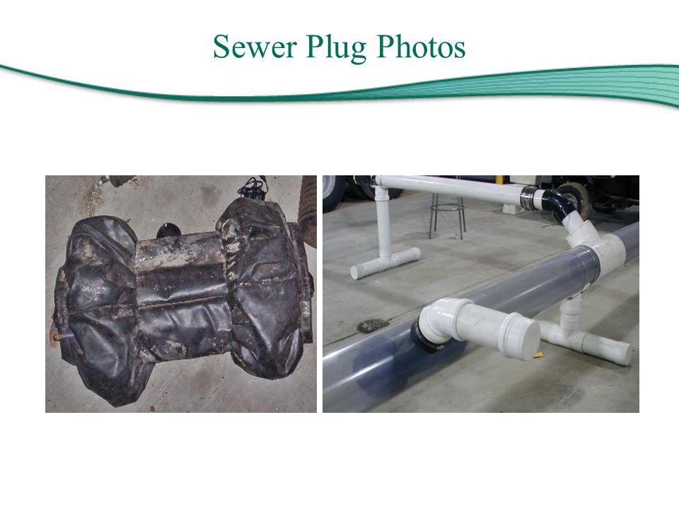 Sewer Plug Photos