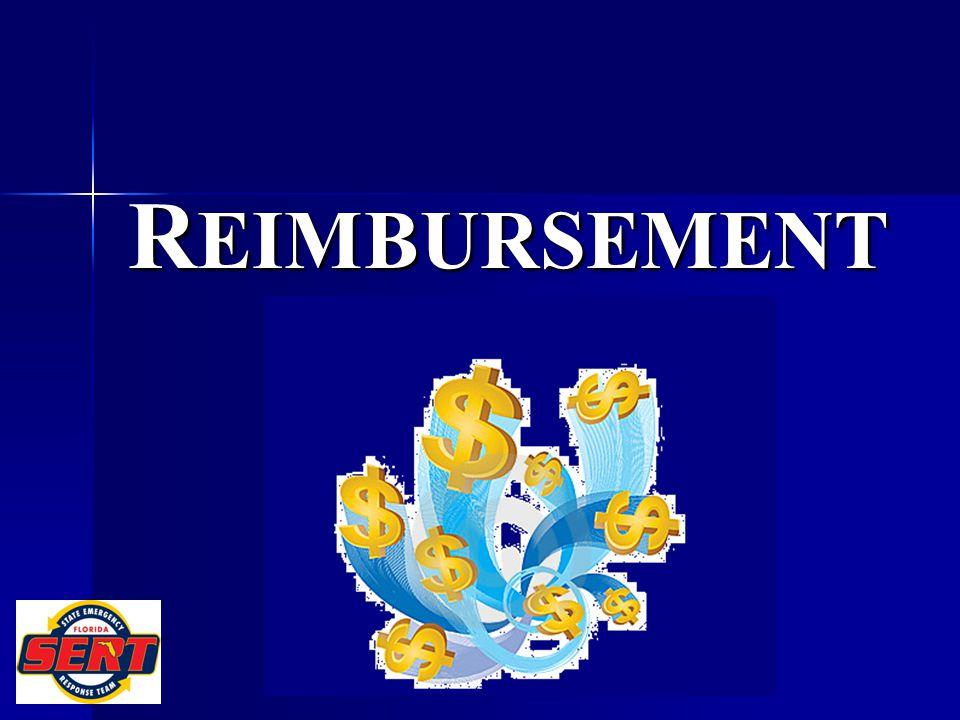 R EIMBURSEMENT