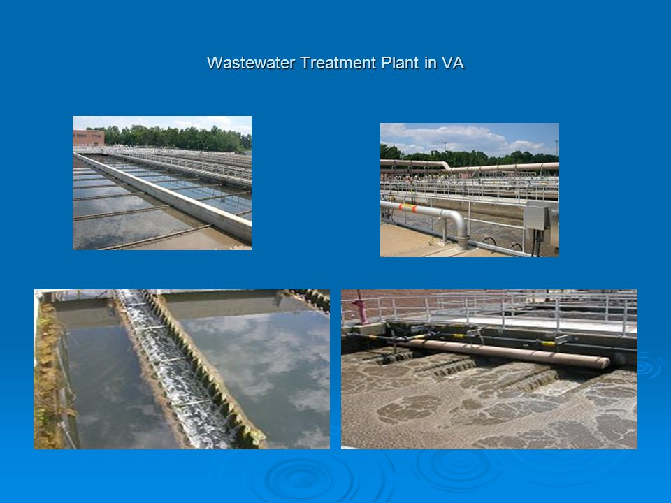 Wastewater Treatment Plant in VA