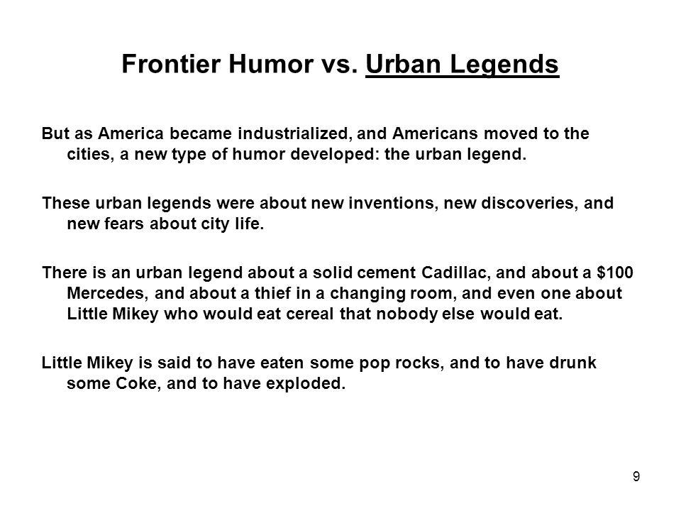 9 Frontier Humor vs.
