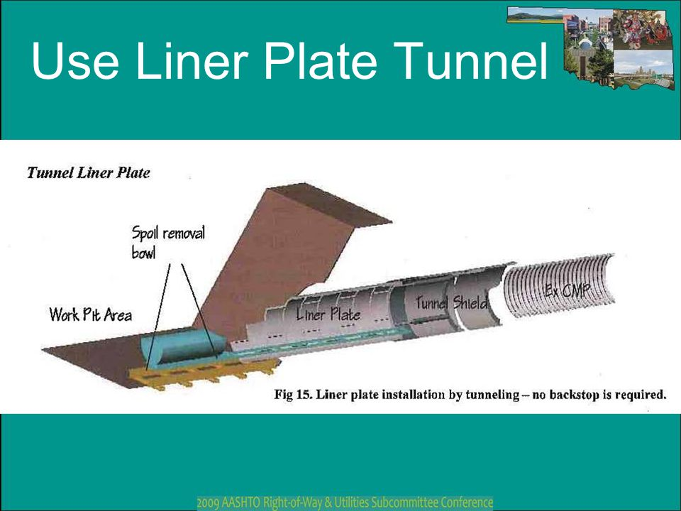 Use Liner Plate Tunnel